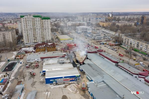 Материалы расследования пожара на Качинском рынке снова оказались в прокуратуре