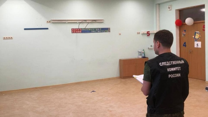 Под Краснодаром в новой школе обрушился потолок