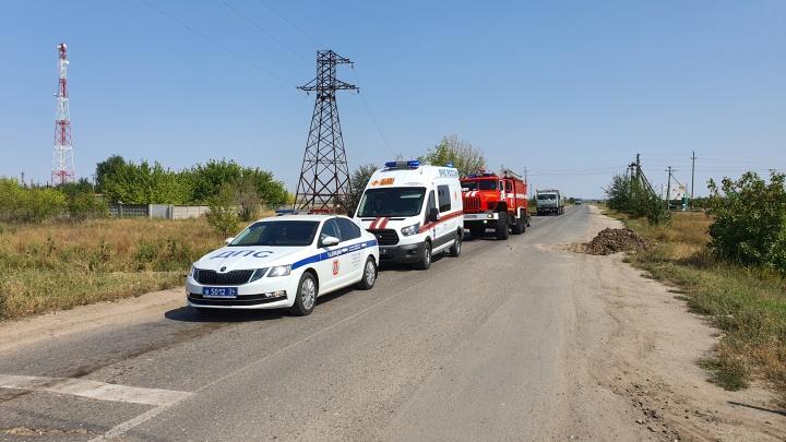 Раскопали вместе с фундаментом: под Волгоградом обнаружили две авиационные бомбы