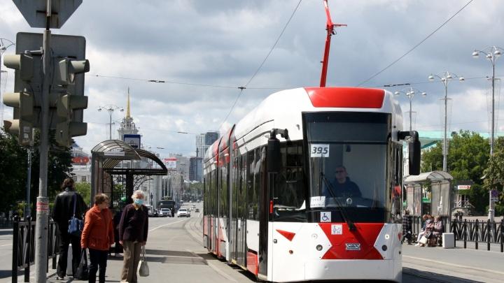 Проект трамвайной линии из деревни Универсиады в центр Екатеринбурга доверили московской фирме