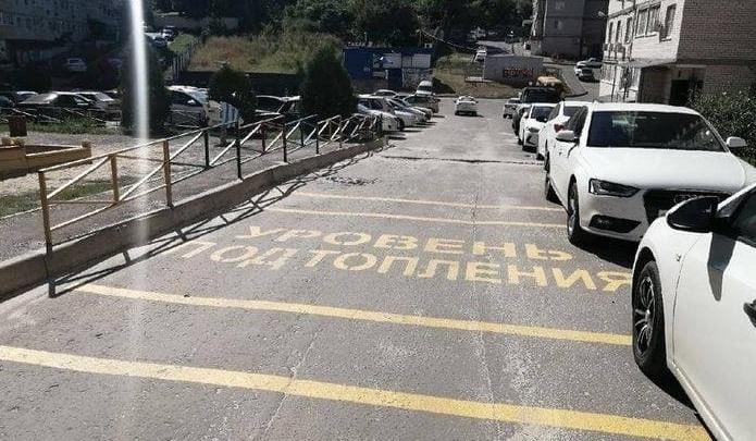 Администрация Ростова: проблему тонущего двора на Извилистой решит застройщик