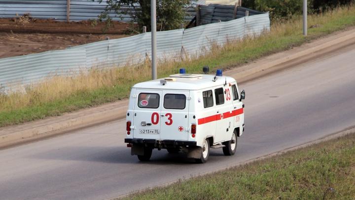 Скорая насмерть сбила пешехода на трассе в районе села Дружино