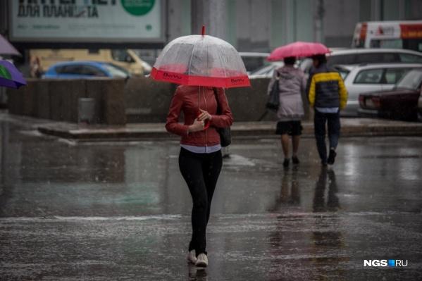 Температура воздуха будет постепенно падать в ближайшие дни