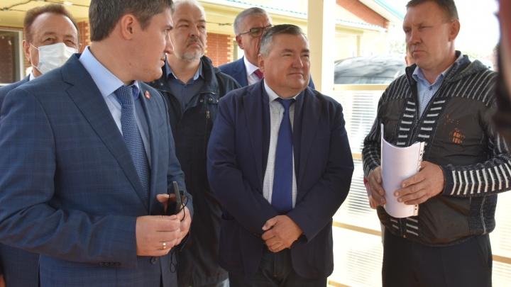 Руководство региона с рабочим выездом посетило Чайковский городской округ