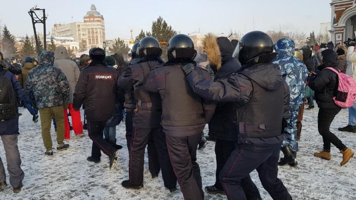 «ОВД-Инфо»: в Омске задержали 12 человек