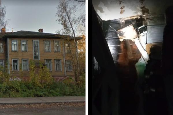 Деревянный дом расселили в 2020 году
