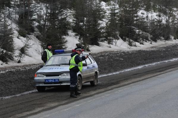 Пока в Свердловской области движение по трассам открыто