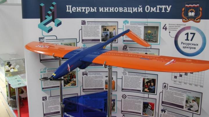Омские ученые разработали беспилотник, который может летать и как квадрокоптер, и как самолет