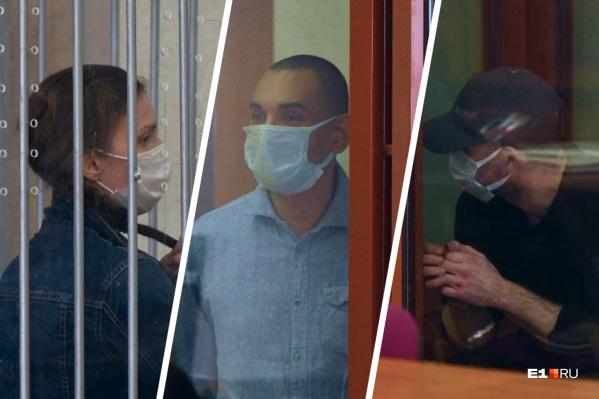 Все трое подсудимых получили крупные сроки заключения