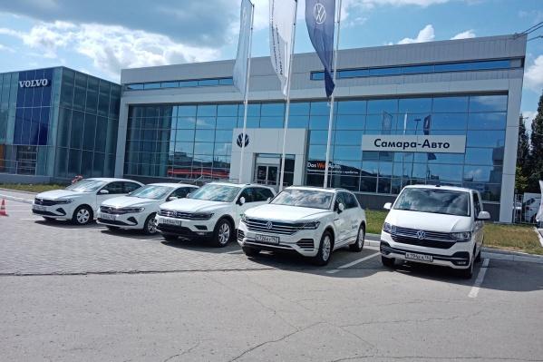 Салон представила компания «Самара-Авто»