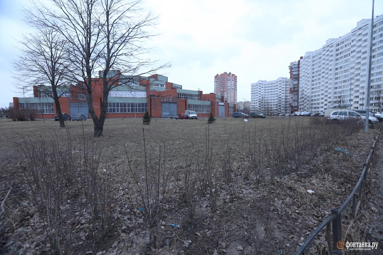 Сквер на Маршала Жукова, 18
