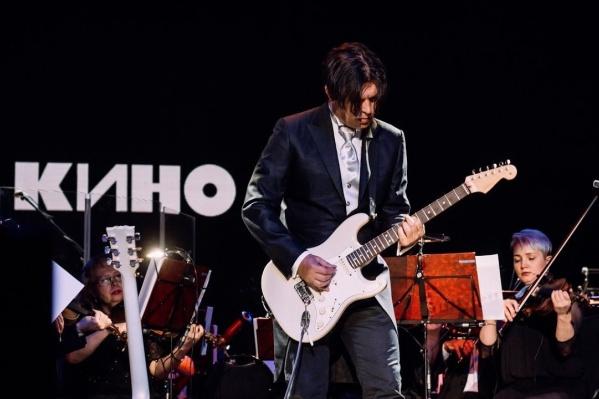 Юрий Каспарян, гитарист группы«Кино»