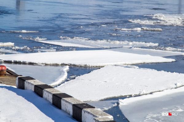 Полюбоваться на ледоход можно будет в середине мая