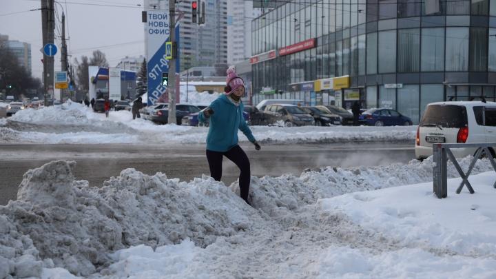 Самара — город-сугроб? Смотрим, как коммунальные службы справились с последствиями снегопада