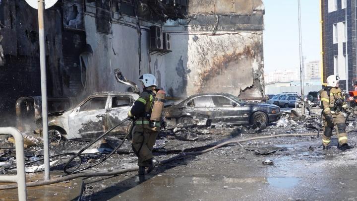 Названа предварительная причина пожара в ТЦ «Скала»