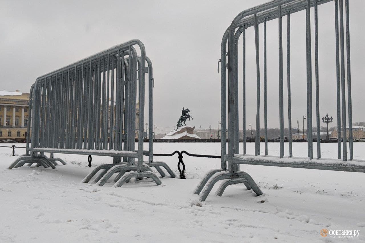 Сенатская площадь&nbsp;<br><br>автор фото Павел Каравашкин / «Фонтанка.ру»