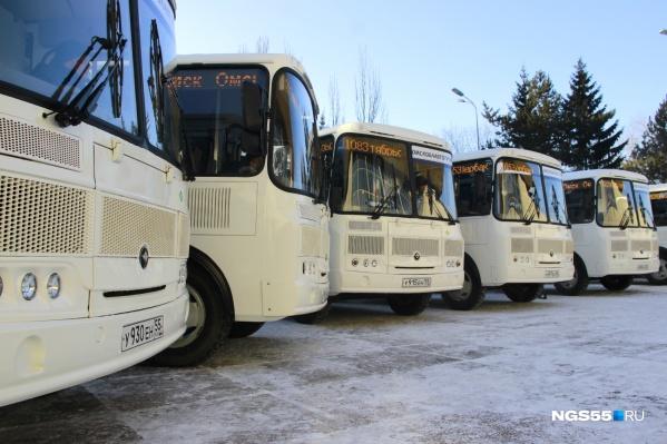 «Омскоблавтотранс» отказался от маршрутов из-за их нерентабельности
