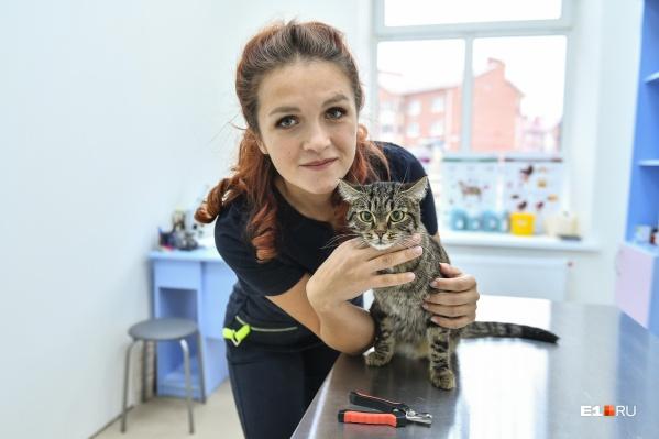 Алена Жигулина работала ветеринаром по найму, но всегда хотела свою клинику