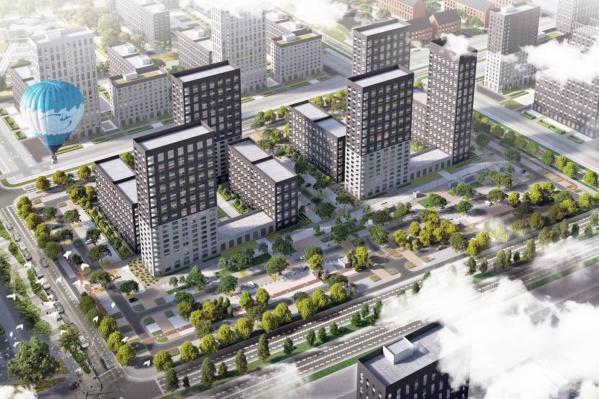 Район будут строить в 9 непрерывных этапов и планируют ввести в эксплуатацию к 2035 году