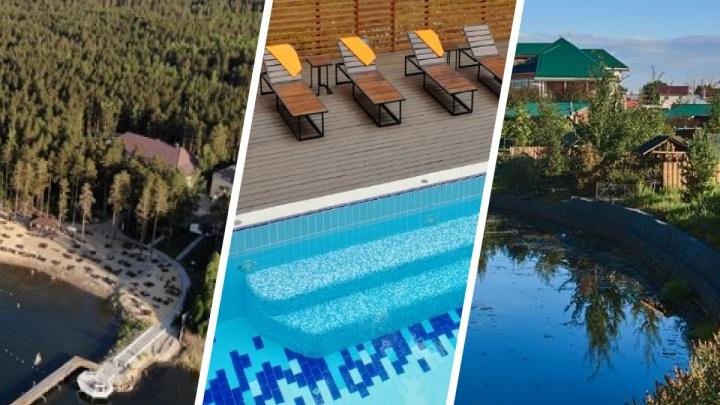 С бассейном, сауной и рыбалкой: ищем под Екатеринбургом загородные отели для комфортного отдыха