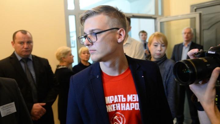 Самый молодой депутат думы Екатеринбурга надеется избежать службы в армии