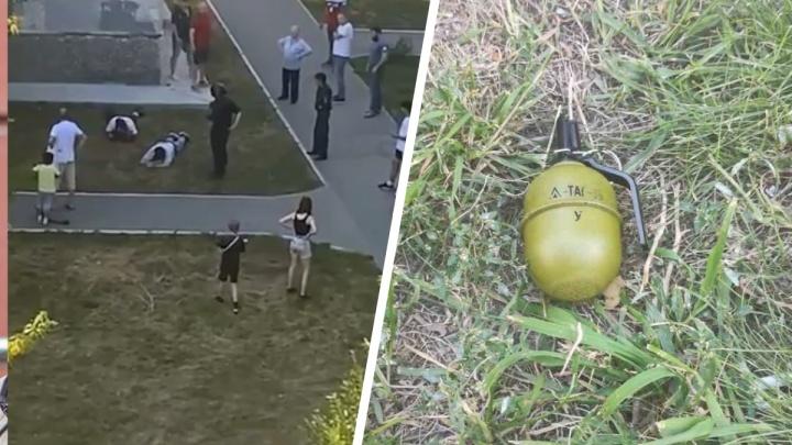 Тюменцы разняли драку двух мужчин, у одного из которых выпала «бомба»