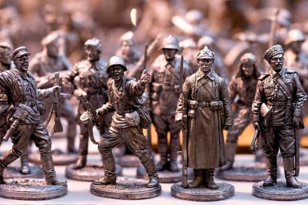 На выставке покажут миниатюры солдат и полководцев разных исторических времен