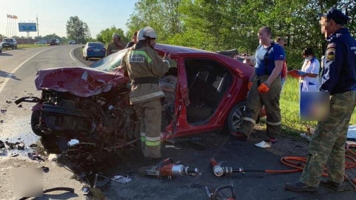 Под Самарой в ДТП на трассе погибли три человека
