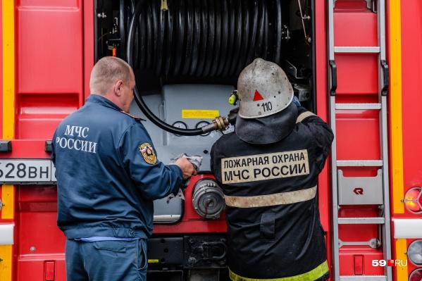 На место выезжалипожарно-спасательные подразделения МЧС