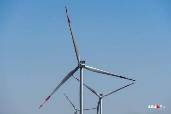 В Ростовской области продолжается строительство ветропарков