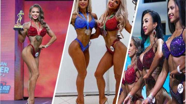 Siberian Power Show прошло в Красноярске в выходные: показываем победительниц в фитнес-бикини