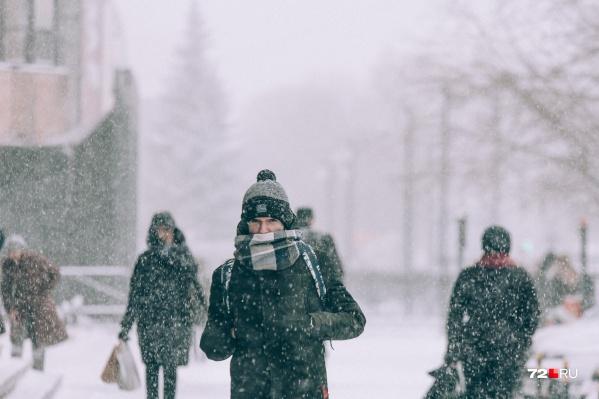 Холода в Тюменской области пока не отступают