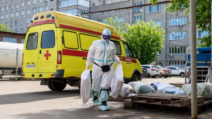 В Красноярском крае новый рекорд по числу заболевших