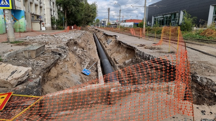 Следуйте в объезд! В Самаре продлили срок закрытия улиц Гаражной и Карбышева
