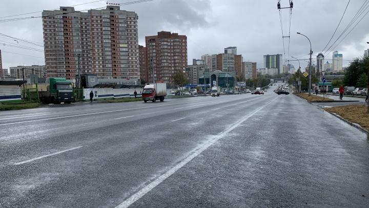 Дороги для слуг народа. Смотрим, как починили Нарымскую и Дачное шоссе, где ездят Локоть, губернатор и другие шишки