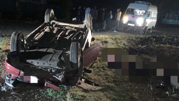 В Башкирии водитель «Приоры» насмерть сбил двух человек и скрылся