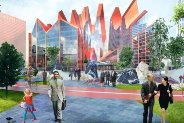 Застройщик рассказал подробности о новом квартале в центре Екатеринбурга