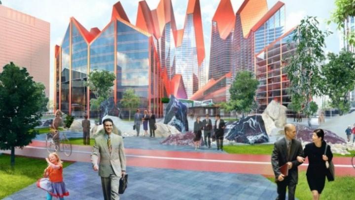 Гастромолл, небоскребы, огромный паркинг: что построят в новой очереди «Екатеринбург-Сити»