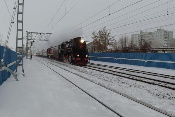 Паровоз прозвали Лебедянкой в честь конструктора Льва Лебедянского