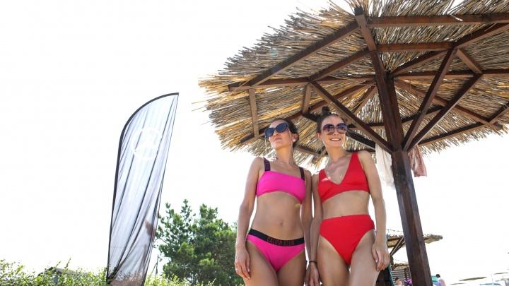 Горячий во всех смыслах репортаж с местных пляжей, куда рванули тюменцы в 40-градусную жару