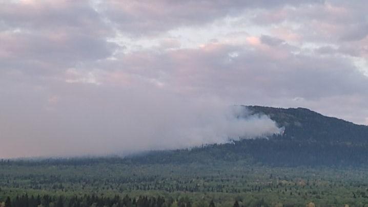 В закрытом городе Башкирии горит лес