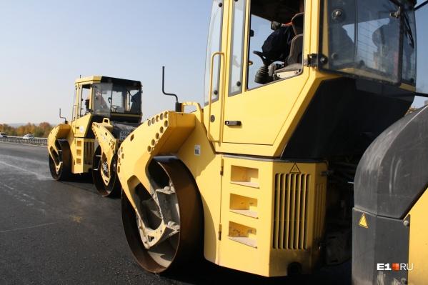 В Екатеринбурге и Свердловской области близится к завершению сезон дорожных ремонтов