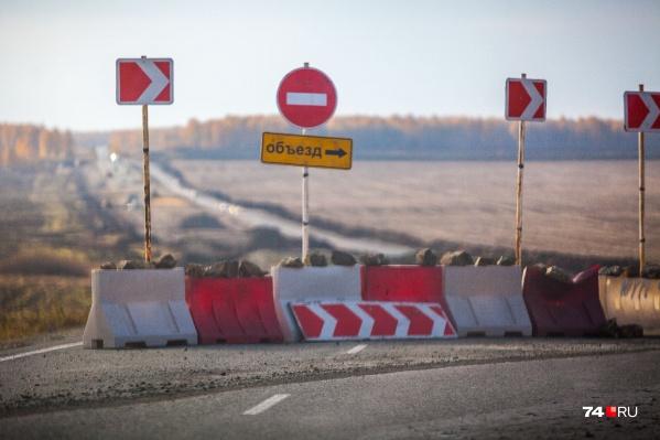 Ремонт трассы «Иртыш» усложнил жизнь автомобилистам из Зайково и Изумрудного