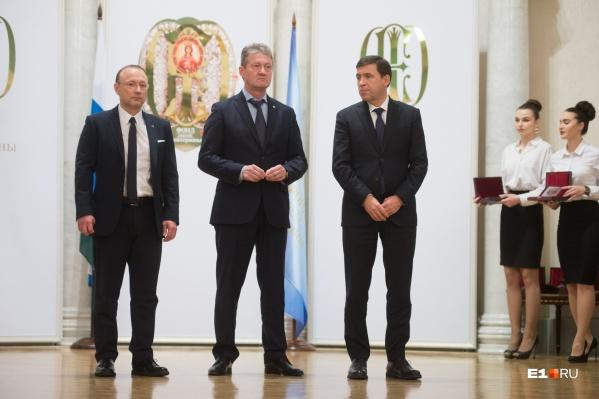 Игорь Алтушкин (слева)— на 369-й строчкеForbes, а Андрей Козицын (в центре) — на 421-й