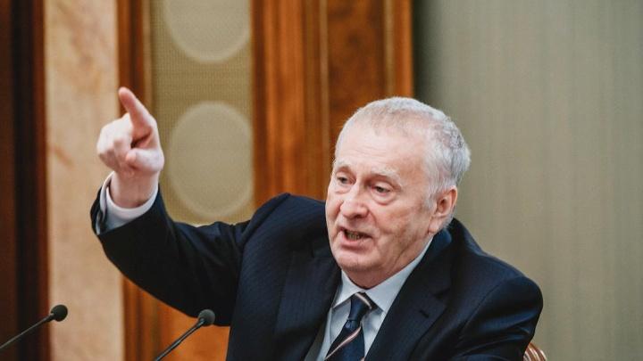 Владимир Жириновский предложил объединить «тюменскую матрешку»