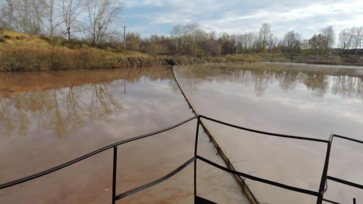 «Мечел» выплатил штраф за слив грязных сточных вод в реку Миасс в Челябинске