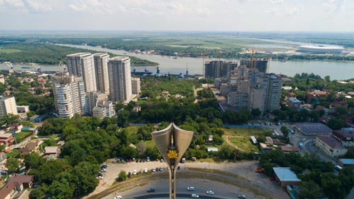 Власти Ростова выкупят 70 участков на сгоревшем Театральном спуске