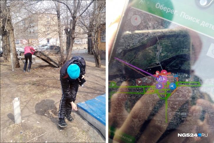 Добровольцы заглядывают буквально под каждый камень. У них в телефонах стоит приложение, которое отмечает пройденный маршрут, чтобы другие не ходили по тем же местам