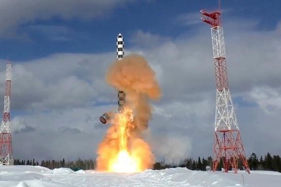 Испытания ракеты «Сармат» начались в 2020 году на космодроме «Плесецк»
