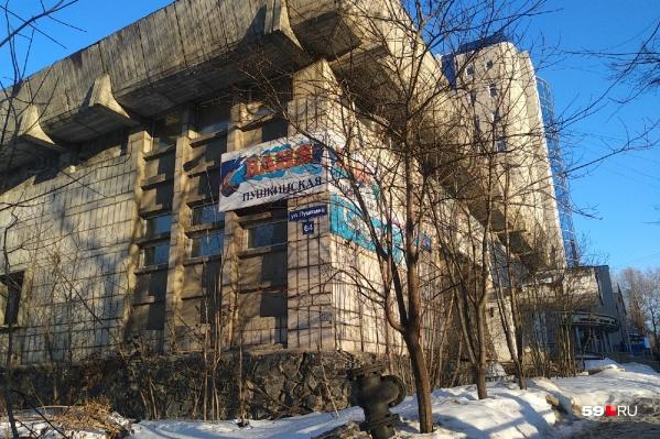 После коронавирусного года Пушкинская баня не работает